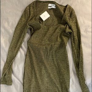 Urban outfitters long sleeve bodycon dress